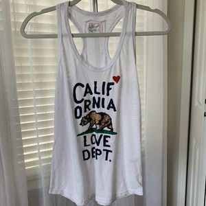Reflex White California Tank Small